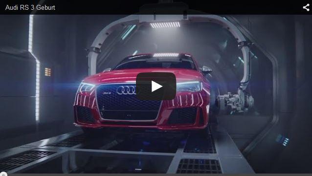 Audi RS 3 Werbung - Audi Blog