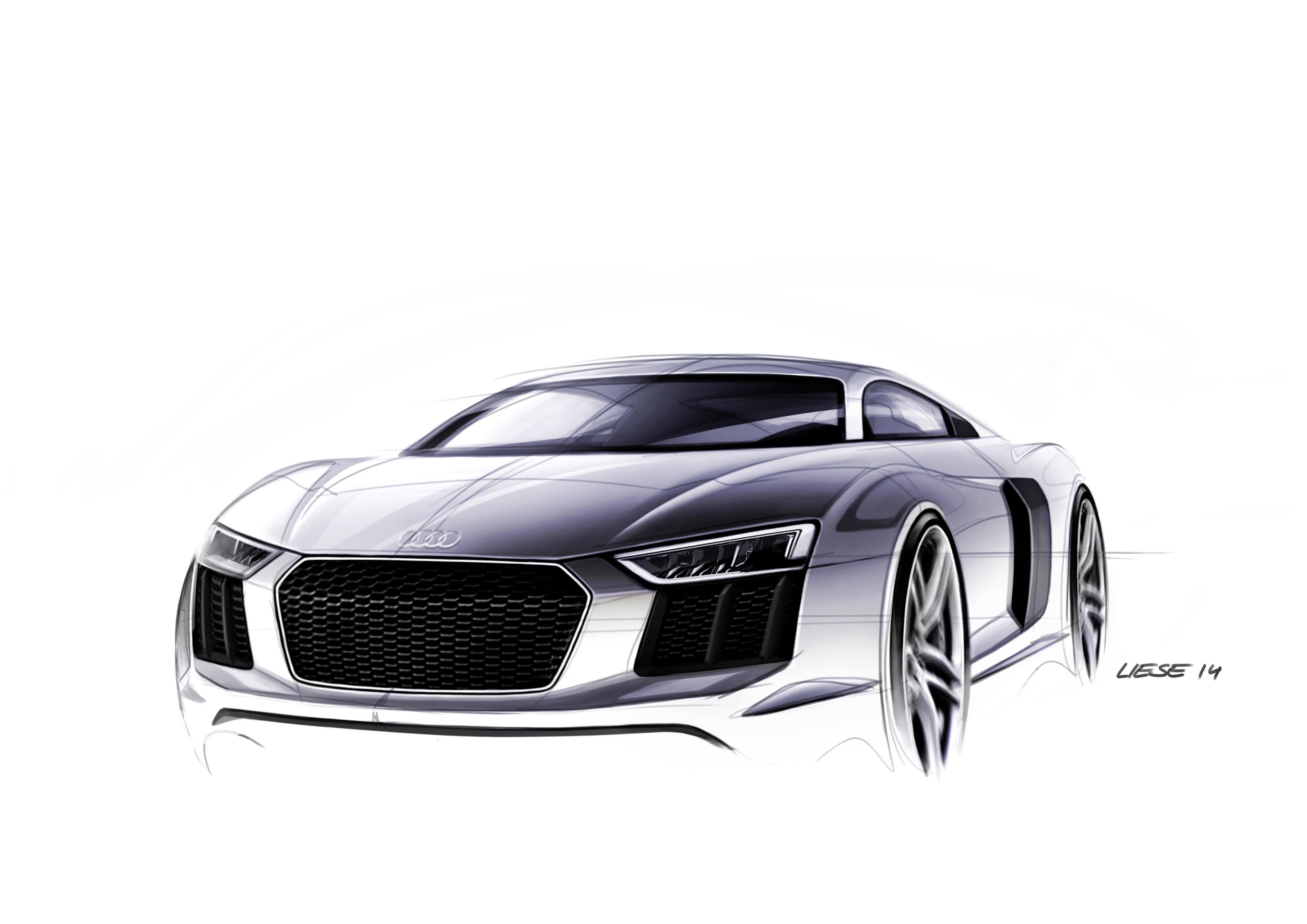 Audi R8 Zeichnungen Audi Blog