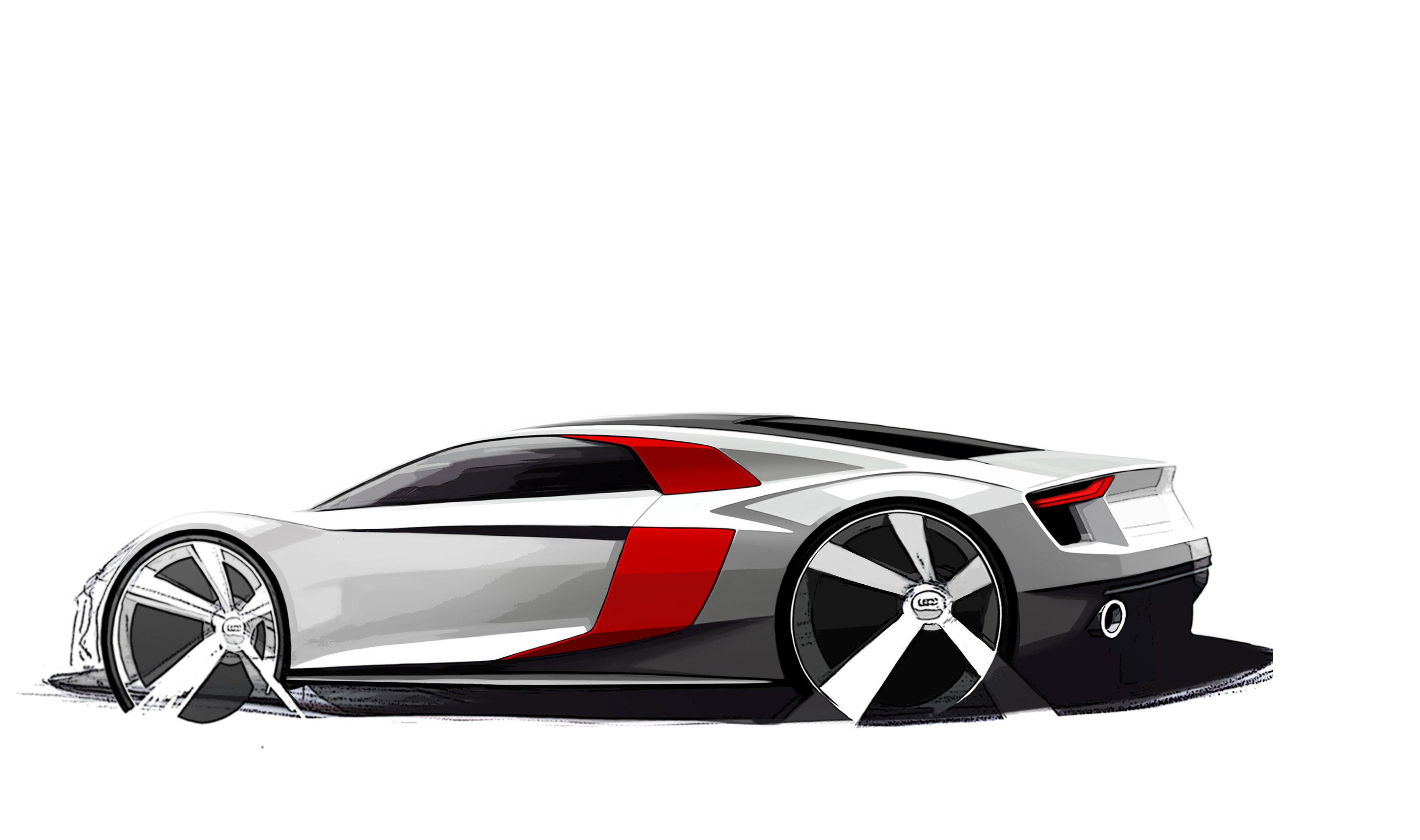 Audi R8 Zeichnungen - Audi Blog