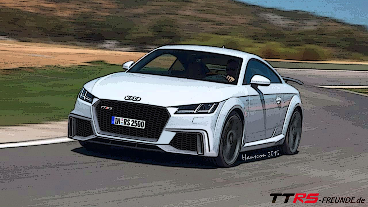 2016 Audi Ttrs New Render Audi Blog