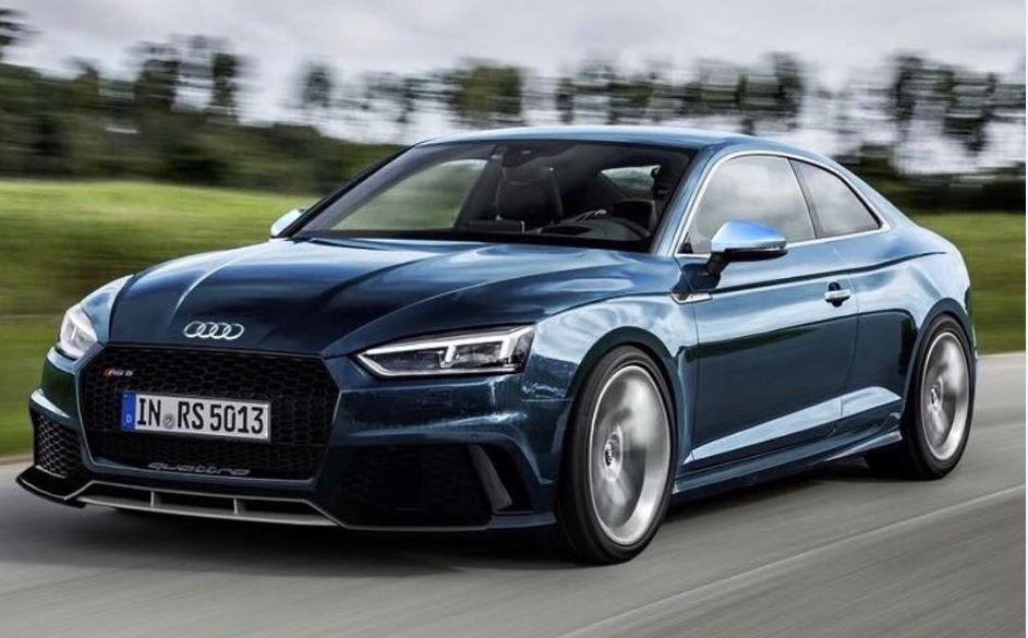 2017 Audi Rs5 Render Audi Blog