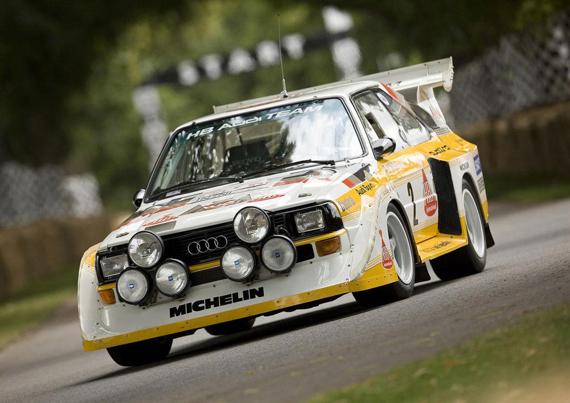 Audi Sport Quattro S1 Beim Bergrennen Audi Blog