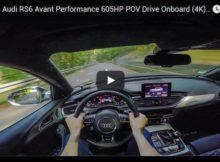 Audi RS6 Performance POV drive