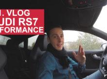 Vlog Audi RS 7 Sportback Performance