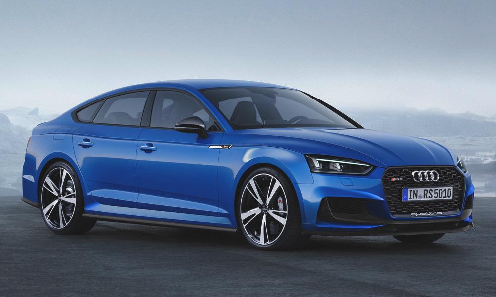Wir Haben Die Ersten Bilder Des Audi Rs5 Sportback