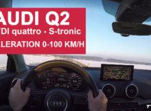 Audi Q2 Beschleunigung