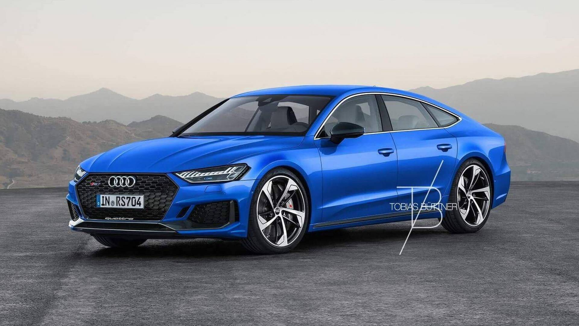 Breaking 2018 Audi Rs7 Renderings