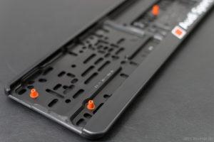 Audi Sport Kennzeichenhalter