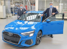 Markus Söder besucht Audi