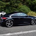 Audi TT RS in Phantomschwarz Perleffekt