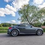slammed Audi TT Coupé