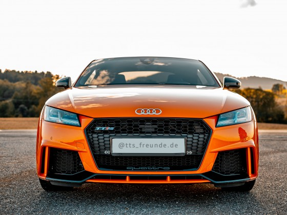 Audi TT RS Catalunyarot Teal&Orange Look <3