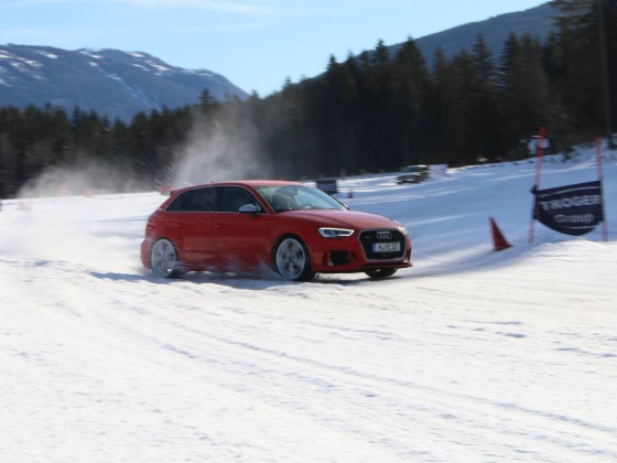 Audi RS3 Raab Lungau Eis-Drift 2019  Bild 1
