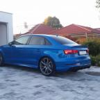 RS3 Limousine Arablau heck