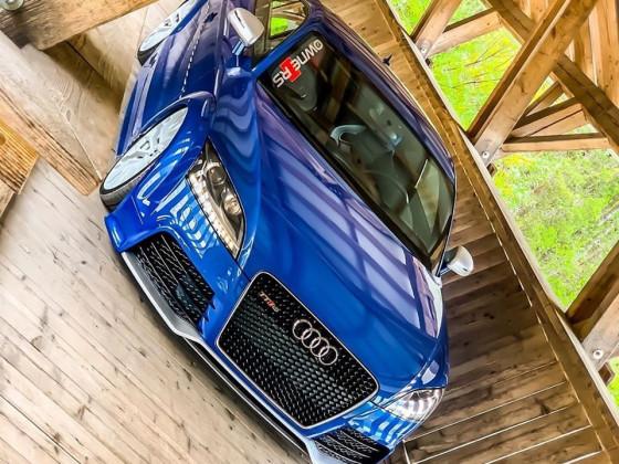 Sprintblauer Audi TT RS - Sprintblue Audi Audi TTRS