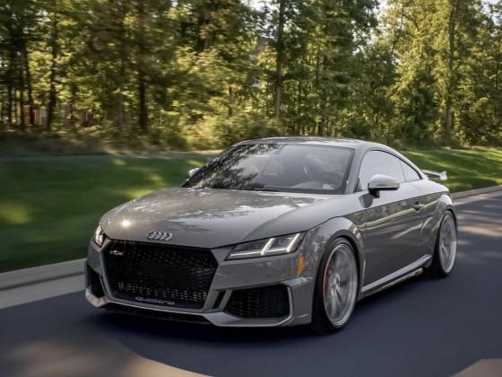 Audi TT RS Grey