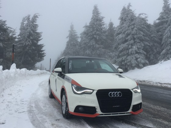 A1 im Schnee