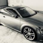 Audi TT Coupe, Teilfolierung Front