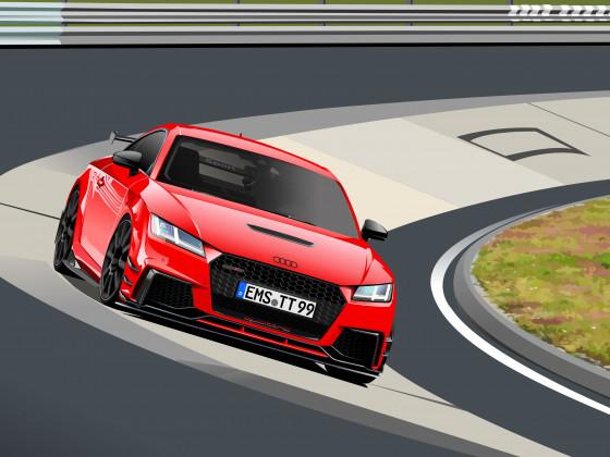 Audi TTRS Nordschleife