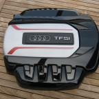 TTS 8S Motorabdeckung in schwarz Glanz