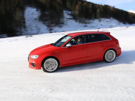 Audi RS3 Raab Lungau Eis-Drift 2019  Bild 2