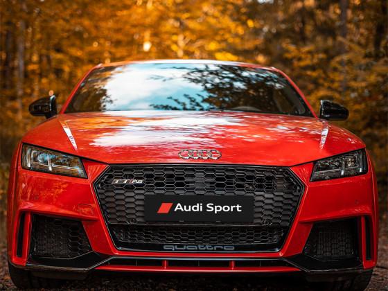 Audi ttrs catalunya red