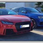Audi TTs + RSQ3