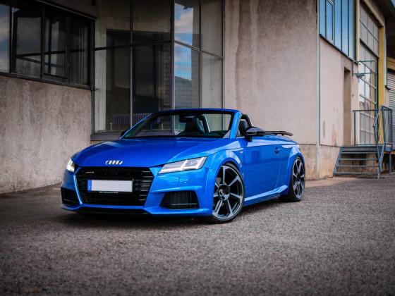 Audi TT, Arablau, KW V3