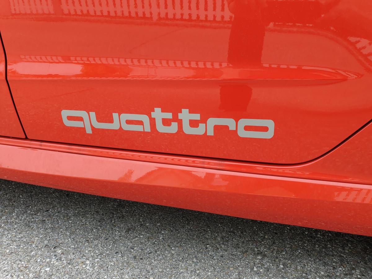 Quattro Logo Tuning