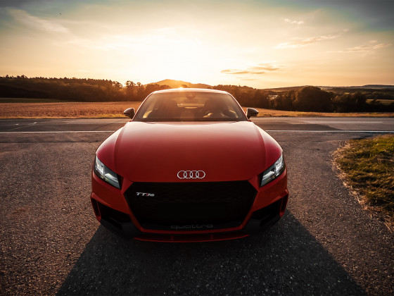 Audi TTRS 8S - Sunset