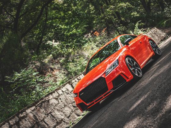 Audi TTRS Catalunyarot