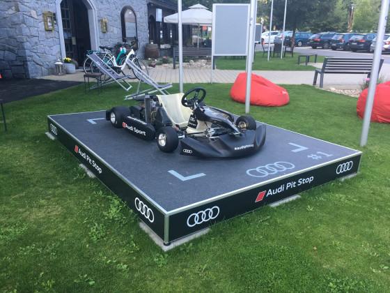 Audi Pit Stop