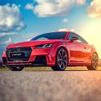 Audi TT RS Catalunya Red