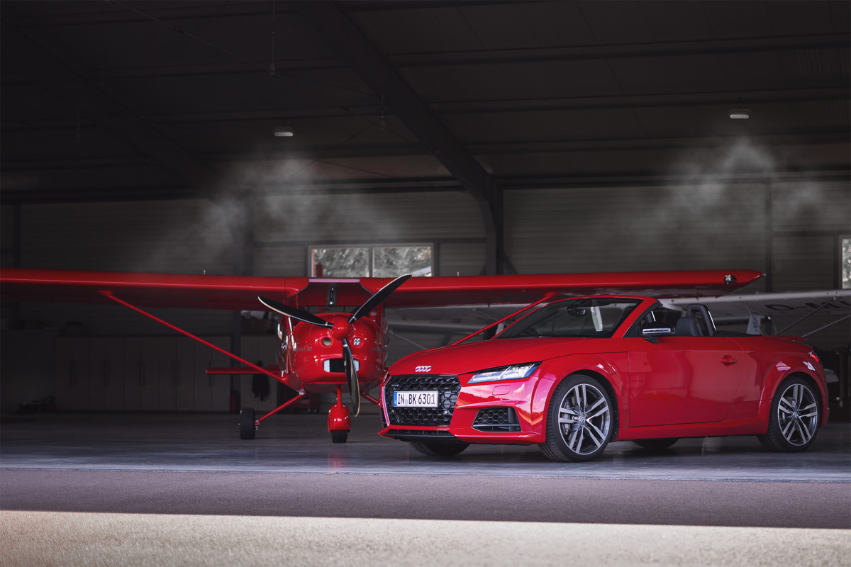 Audi TT Roadster 45 TFSI quattro Tangorot
