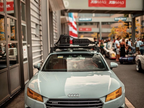 Audi TT roof rack